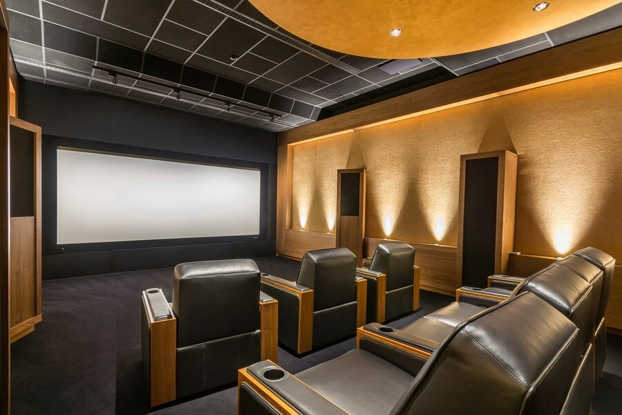 Elevate Your Home Entertainment with a Custom Home Theater